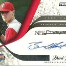 2008 Tristar Prospects Plus Brad Holt Autograph