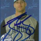 2010 DAV Camden Riversharks Jason Botts Autograph