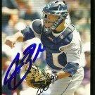 2007 Topps Update Jamie Burke Autograph