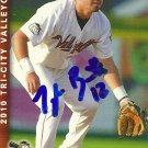 2010 Multi Ad Sports Valley Cats Oscar Figueroa Autograph