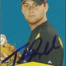 2007 Bowman Heritage Todd Redmond Autograph