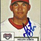 2006 Topps '52 Melvin Dorta Autograph