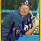 1990 Bowman Ernie Whitt Autograph