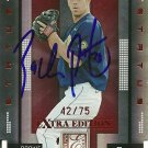 2008 Donruss Elite Extra Edition Red Status Zach Putnam Autograph