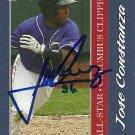 2010 Choice International League All-Star Jose Constanza Autograph