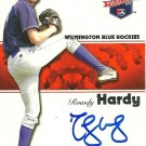 2008 Tristar Projections Rowdy Hardy Autograph