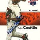 2008 Tristar Projections Fabio Castillo Autograph