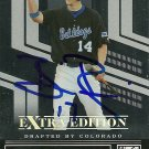 2007 Donruss Elite Extra Edition Brian Rike Autograph