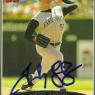 2006 Topps Series 2 Andy Sisco Autograph