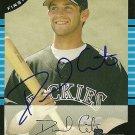 2005 Bowman Draft Daniel Carte Autograph