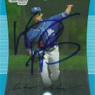 2008 Bowman Chrome Wesley Wright Autograph