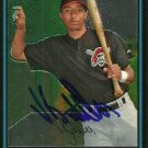 2007 Bowman Chrome Vic Buttler Autograph