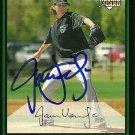 2007 Bowman Draft Jamie Vermilyea Autograph