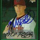 2007 Bowman Draft Chrome Mark Reynolds Autograph