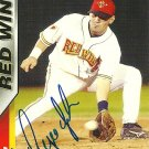 2004 Choice Red Wings Augie Ojeda Autograph