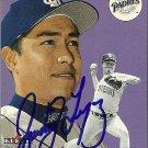 2000 Fleer Tradition Rodrigo Lopez Autograph