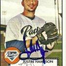 2007 Topps '52 Justin Hampson Autograph