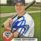 2007 Topps '52 Craig Stansberry Autograph