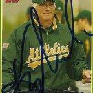 2006 Topps Series 2 Ken Macha Autograph