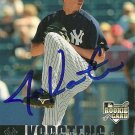2006 Upper Deck Update Jeff Karstens Autograph