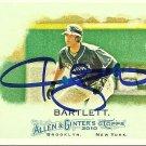 2010 Topps Allen & Ginter's Jason Bartlett Autograph
