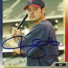 2005 Topps Total Jason Bartlett Autograph