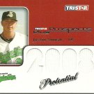 2008 Tristar Prospects Plus Justin Smoak Potential Game-Used Jersey Card