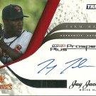 2008 Tristar Prospects Plus Farm Hands Jay Jackson Certified Autograph