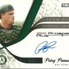 2008 Tristar Prospects Plus Farm Hands Petey Paramore Certified Autograph
