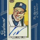 2009 Topps T-206 Curtis Granderson Framed Certified Autograph