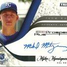 2008 Tristar Prospects Plus Farm Hands Mike Montgomery Certified Autograph
