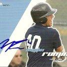 2008 Just Autographs Austin Romine Autograph