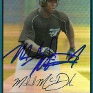 2007 Bowman Draft Chrome Refractor Mike McDade Autograph