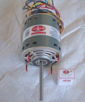 3/4 H.P. FURNACE BLOWER MOTOR- 120V FOR GAS FURNACES