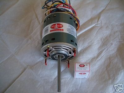 1 2 h p furnace blower motor 230 volt for Central heat and air blower motor