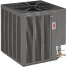 4 TON CENTRAL AIR CONDITIONING UNIT HEAT PUMP SYSTEM RHEEM 13JPL