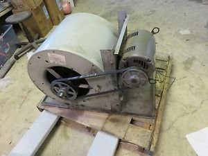 INDUSTRIAL FAN BLOWER ASSEMBLY 6000 CFM 208-230 460 DUAL VOLTAGE