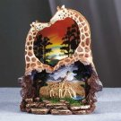 Kissing Giraffes Night Light