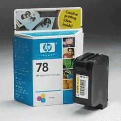 HP C6578DN 78 Tri Color