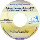 Gateway P-172X FX Drivers DVD For Windows, XP, Vista, 7 & 8