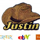 Custom Personalized Iron-on Patch - Cowboy Hat