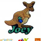 Custom Personalized Iron-on Patch - Kangaroo