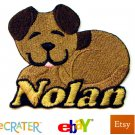 Custom Personalized Iron-on Patch - Puppy Dog