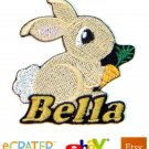 Custom Personalized Iron-on Patch - Bunny Rabbit