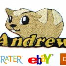Custom Personalized Iron-on Patch -Guinea Pig