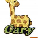 Custom Personalized Iron-on Patch - Giraffe