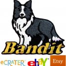 Custom Personalized Iron-on Patch - Border Collie
