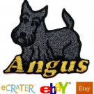 Custom Personalized Iron-on Patch - Scottish Terrier