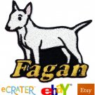Custom Personalized Iron-on Patch - Bull Terrier