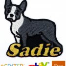 Custom Personalized Iron-on Patch - Boston Terrier